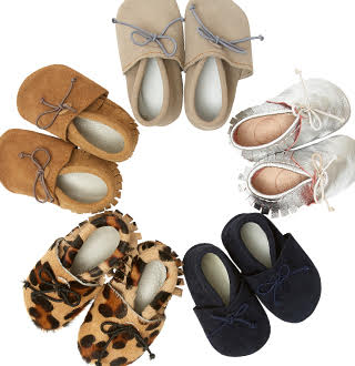 £100 of beautiful moccs for baby