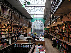Daunt Books interior